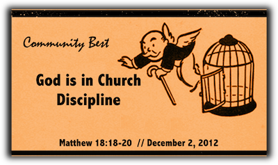 God is in Church Discipline