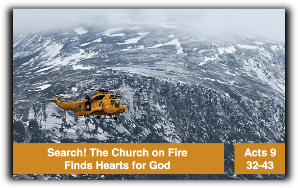 Search! The Church on Fire Finds Hearts for God