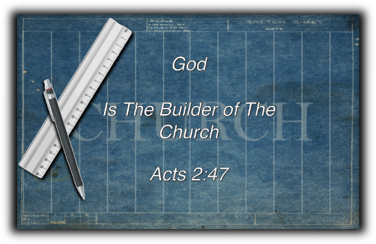 God is the Builder