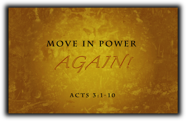 Move in Power Again!