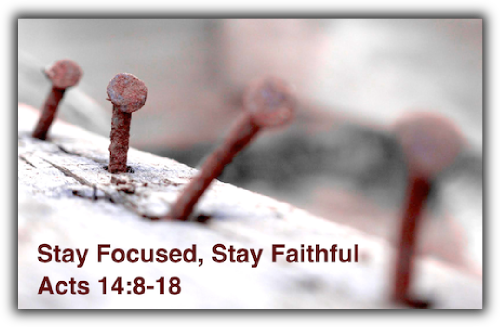 Stay Focused, Stay Faithful
