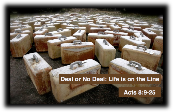 Deal or No Deal: Life is on the Line