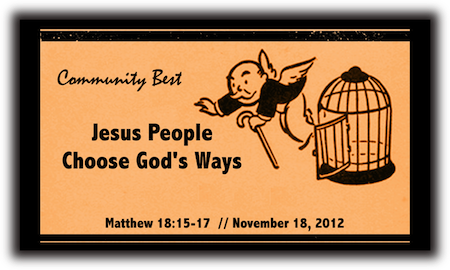 Jesus People Choose God's Ways