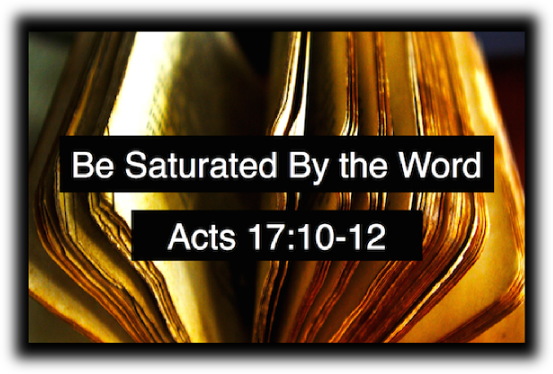 Be Saturated By the Word!