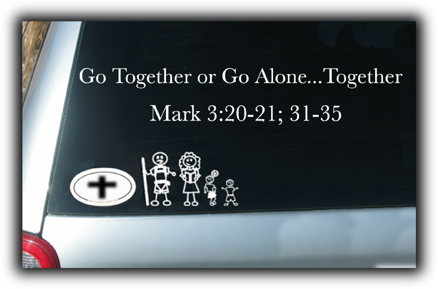 Go Together or Go Alone...Together