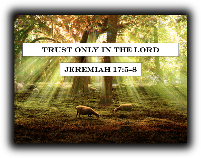 Trust Only in the Lord